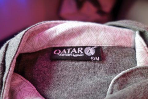 パジャマのサイズ/qatarairways-a350