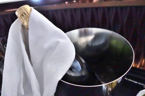 Barのシャンパン/カタール航空ビジネスクラス