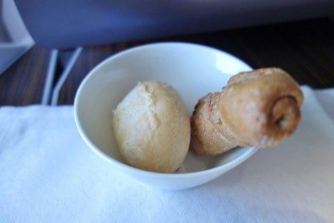 パンの味/カタール航空ビジネスクラス