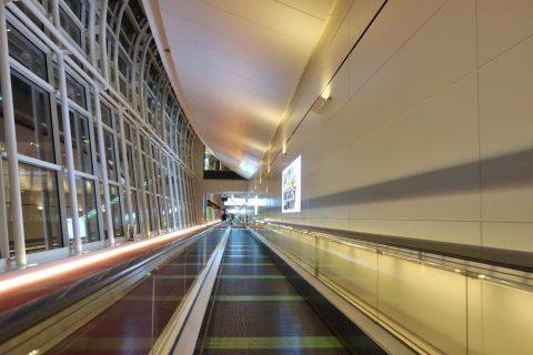 羽田空港国際線到着