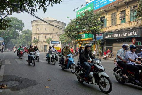 ベトナム・ハノイの大気汚染