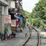 ハノイ旧市街で見つけたベトナムらしい風景/バイク・行商・線路沿いの生活