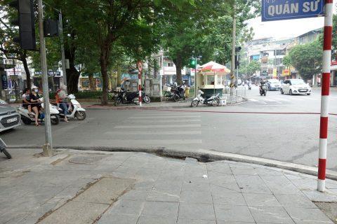 横断歩道/ベトナム・ハノイ