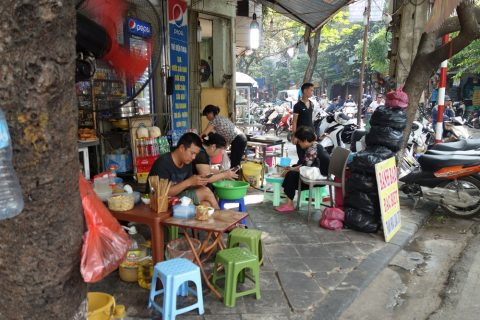 ベトナムでスマホ
