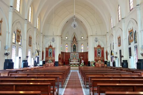 ハイフォン大聖堂の講堂