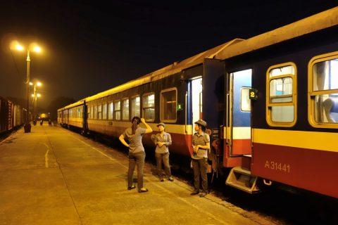 ベトナム鉄道の検札