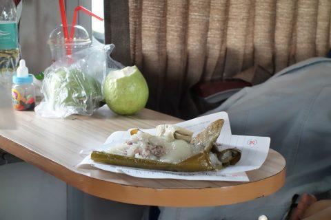 笹のはの食べ物/ベトナム鉄道