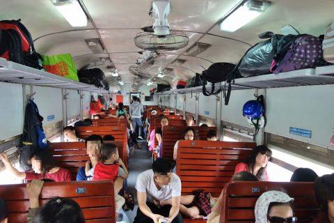ハードシート/ベトナム鉄道