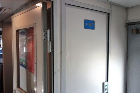トイレ入口/ベトナム鉄道