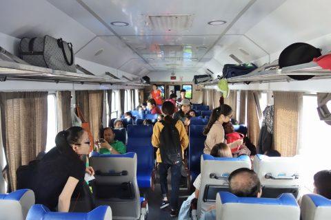 ベトナム鉄道ソフトシート