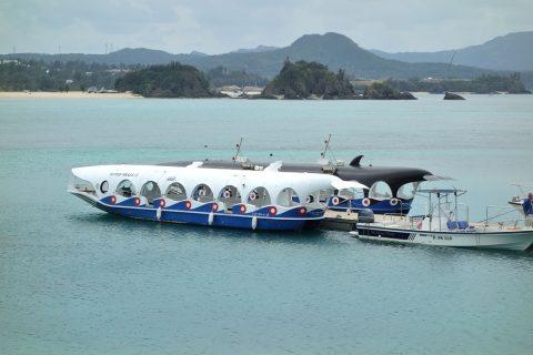 ブセナ海中公園グラス底ボート