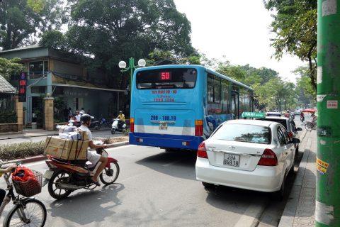 ハノイ50番バス