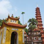ハノイ最古の寺院「鎮国寺」Chùa Trấn Quốc (チュア・チャン・クオック)
