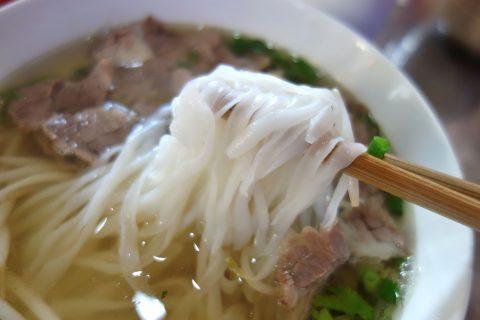 フォーの麺/com-viet-nam