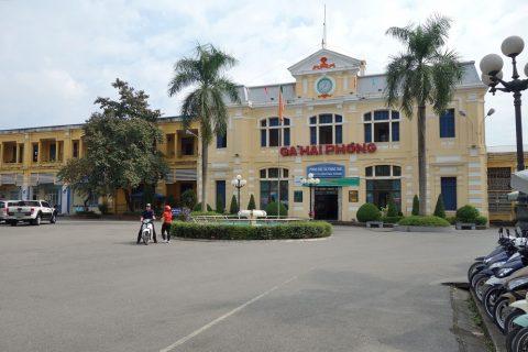 ハイフォン駅舎