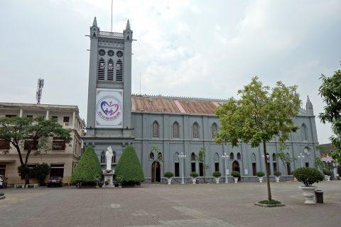 ハイフォン大聖堂の外観