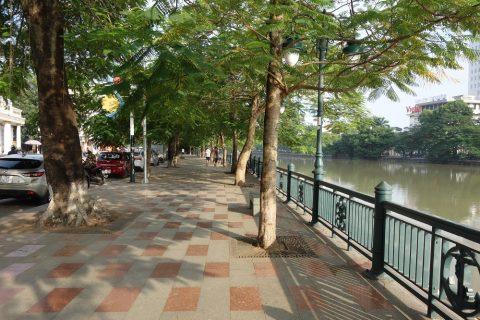 ハイフォンの湖