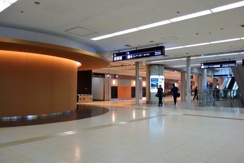 羽田空港のカードラウンジ