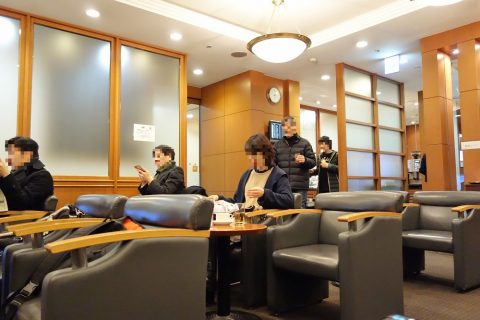 シート/haneda-airport-lounge