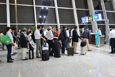 JAL優先搭乗の人数