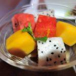 JALビジネスクラス機内食で腹を壊した件…南国フルーツには要注意!