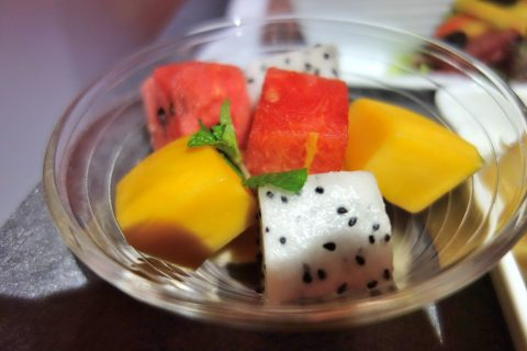 フルーツの盛り合わせ/JALビジネスクラス