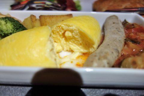 チーズオムレツ/JALビジネスクラス