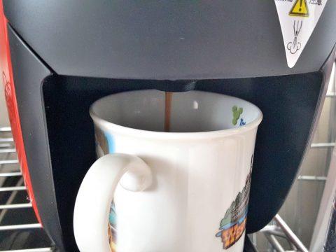 バリスタiコーヒー抽出