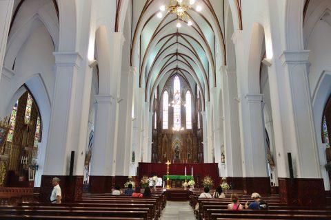 セントジョセフ大聖堂の内部/ハノイ