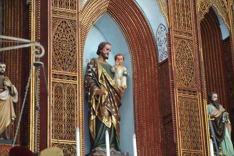 聖ヨセフの像/ハノイ大教会