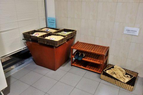 タオルのかご/nia-business-lounge