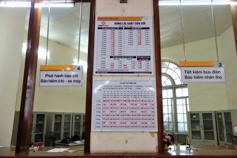 ハイフォン中央郵便局の英語表記