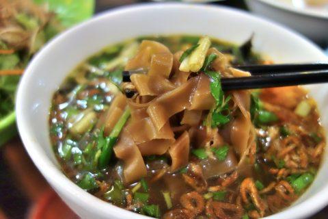 バインダークアの麺/quanbacu-haiphong