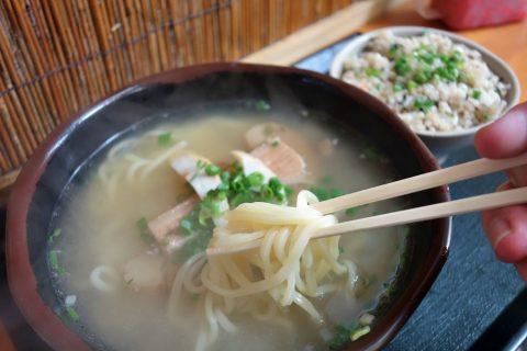 生麺/三丁目そば