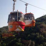 【眉山ロープウェイ】標高290m徳島駅すぐ近くの展望台へ!
