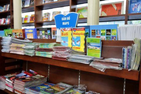 MAPコーナー/ハノイの書店