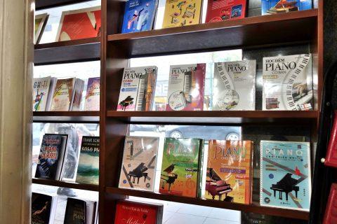 ピアノの楽譜/ベトナムの書店