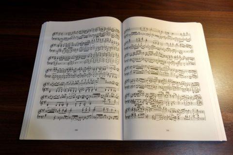 ピアノの楽譜/シューベルト