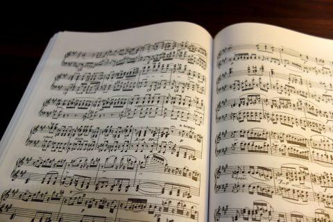 クラシックの楽譜