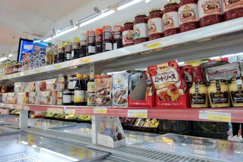 日本の調味料/ハノイのスーパー
