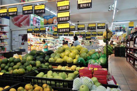 果物/ハノイのスーパー