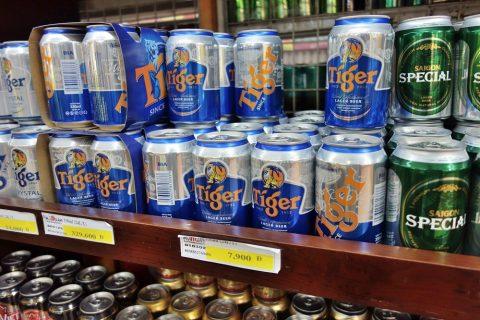 激安のタイガービール