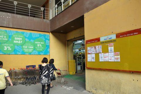 ベトナムのスーパーで買い物