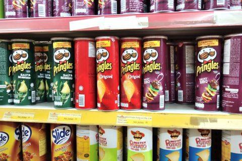 ポテトチップス/ハノイのスーパー