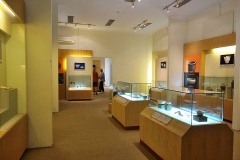タンロン遺跡の博物館