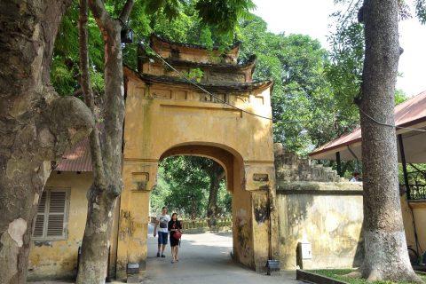 タンロン遺跡の門