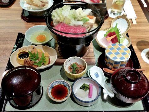 阿波牛のすき焼き御膳/ホテルクレメント徳島