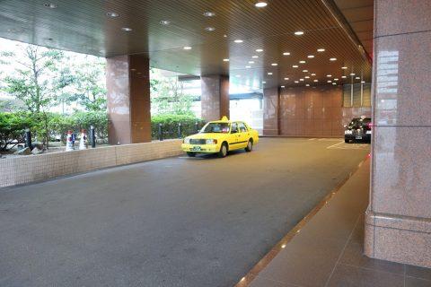 ホテル入口/ホテルクレメント徳島