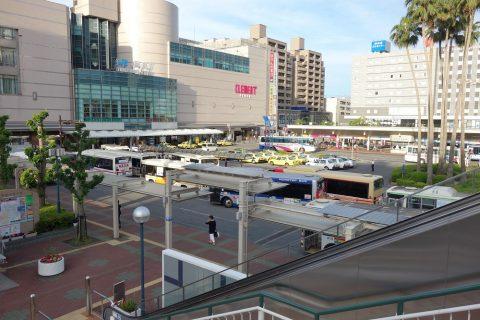 徳島駅バスターミナル