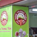 KEM TRÀNG TIENのお米アイス60円が美味い!ベトナム・ハノイ